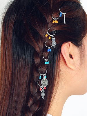 Africa Pigtails Hippie Hip Hop Colorful Hairwears