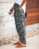Sexy Slim Camouflage Printed Casual Pants