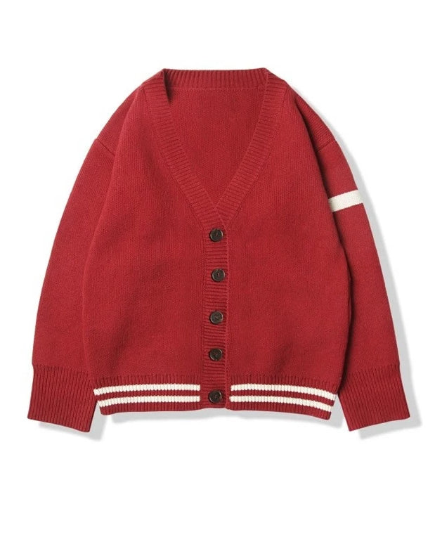 Thicken Retro Long Sleeved Chic Sweater Cardigan
