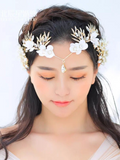 Headwear Crepe Handmade Rhinestone Crown Hair Accessories