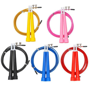 New Steel Wire Skipping Skip Adjustable Jump Rope