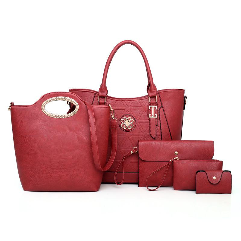 Fashion Trend Mother And Daughter Bag (Six-Piece Set)