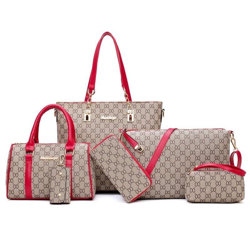 Fashionable New Mother And Child Bag (Six-Piece Set)