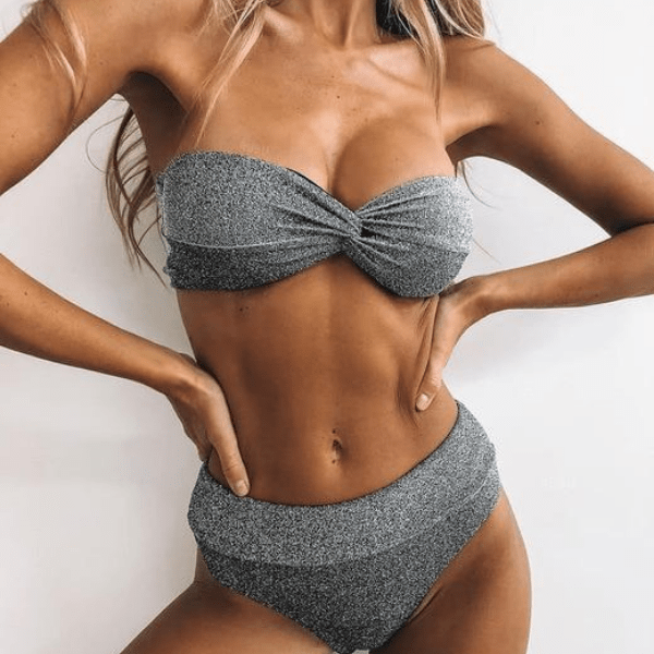 Wilya High Waist Bikini Set