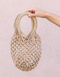 CATCH OF THE DAY WOVEN HANDBAG