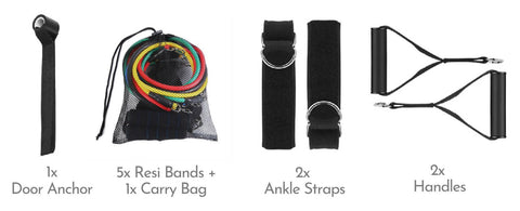 Gym-Easy-Home-Use-Resistance-Band-Set-kit-package