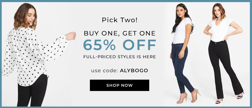 Buy one tall full priced style, get the other 65% OFF!