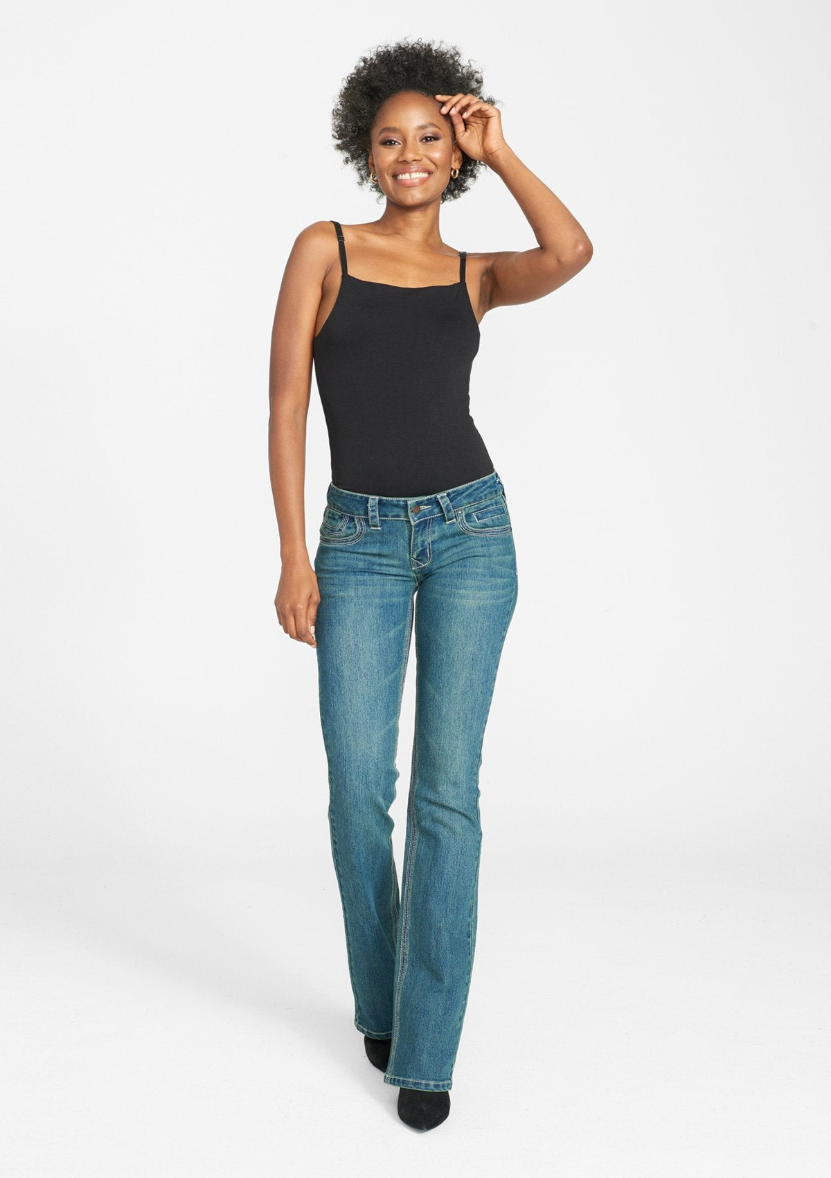 Tall Avery Bootcut Jeans image