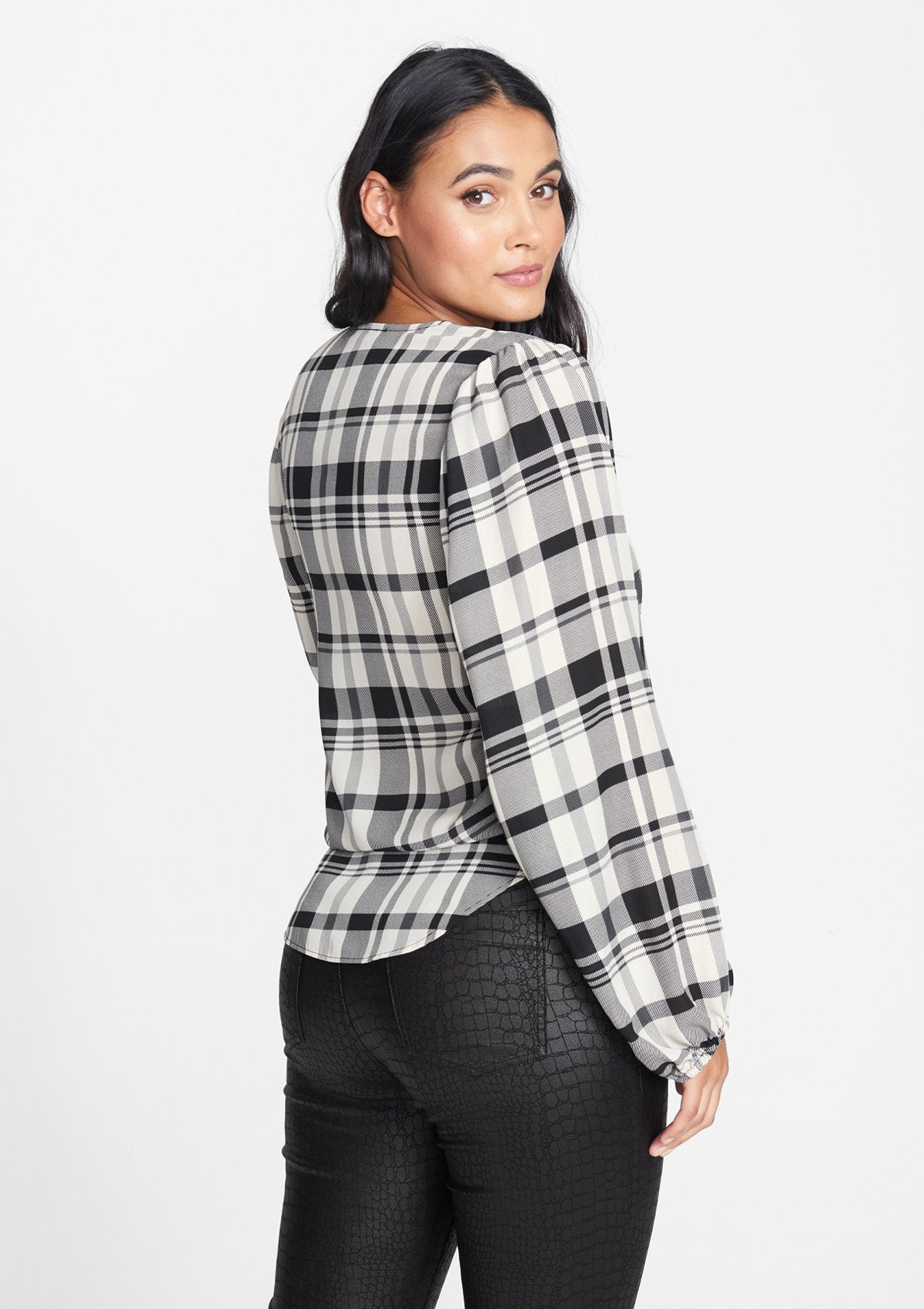 Black Plaid
