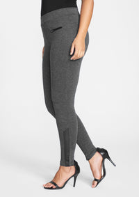 Heather Charcoal Grey
