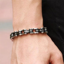 Load image into Gallery viewer, Stainless Steel Bike Chain Bracelet