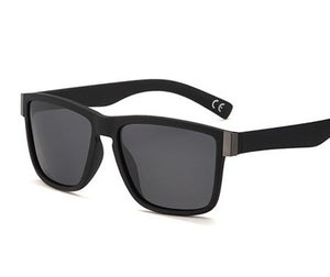 Smoke Lens, Matte Black framed sunglasses