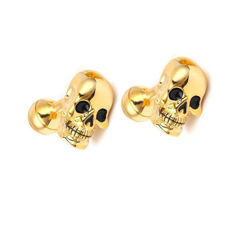 Golden Skulls Cufflinks