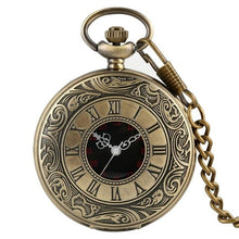 Load image into Gallery viewer, Steampunk style pocket watch