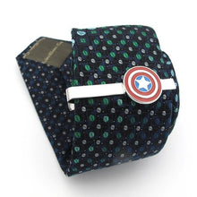 Load image into Gallery viewer, Captain America Tie Pin