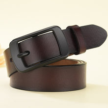 Load image into Gallery viewer, LFMB Genuine Leather Pin Buckle Belt