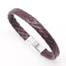 Load image into Gallery viewer, 21cm Braided Pu Leather Bracelets