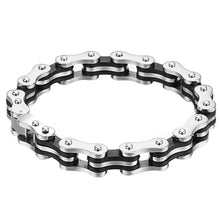 Laden Sie das Bild in den Galerie-Viewer, Stainless Steel Bike Chain Bracelet