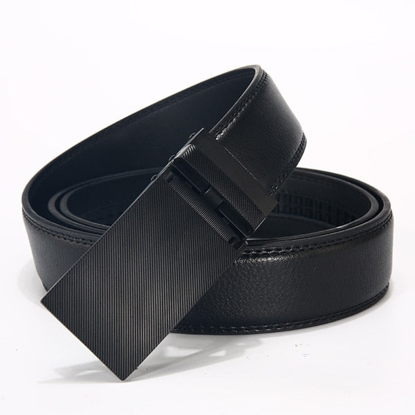 DWTS Genuine Leather BeltWith Flush Buckle