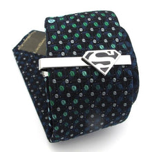 Load image into Gallery viewer, Silver Superman Tie Pin