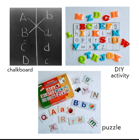 How to teach alphabets to your child?