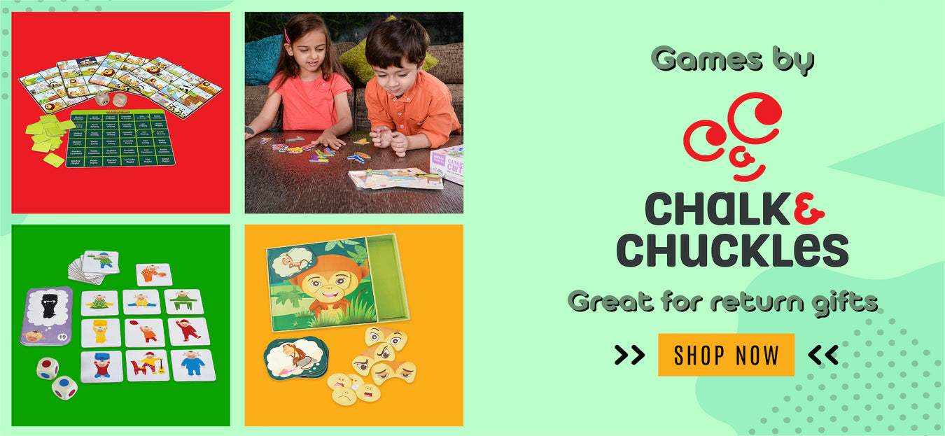 Chalk & Chuckles games in India. Buy Toys online in India.