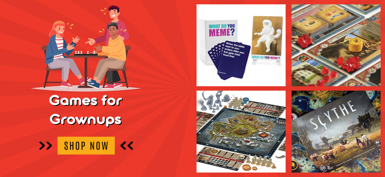 Games for grown ups in India. Buy Toys online in India.