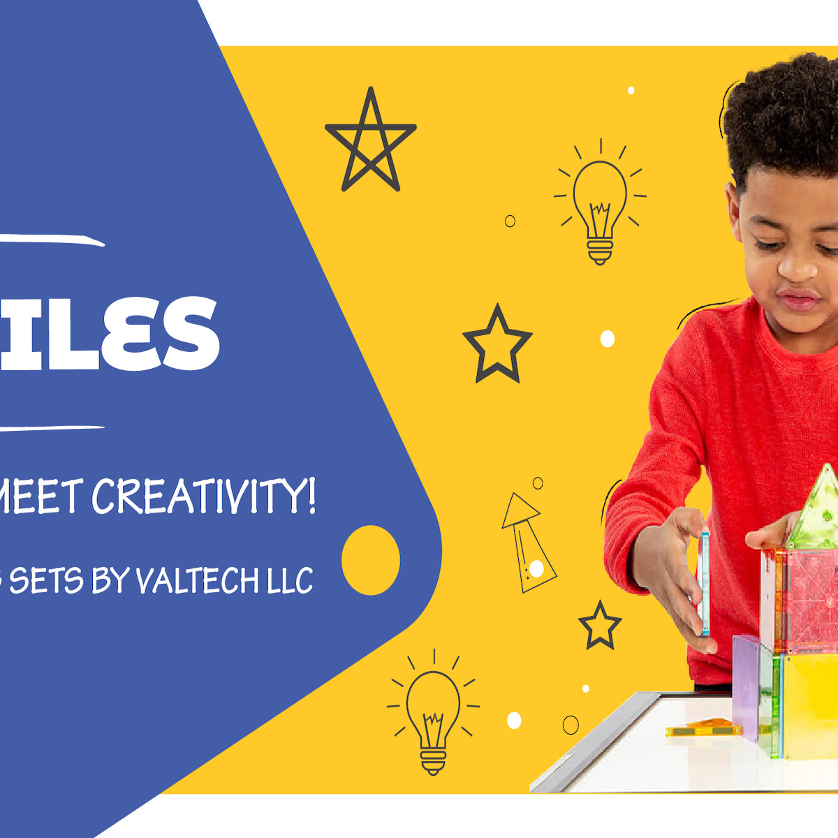 Magnatiles in India. Buy Toys online in India.