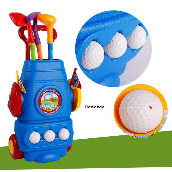 Golf Set (XC-9881L)-Active Play-Toycra-Toycra