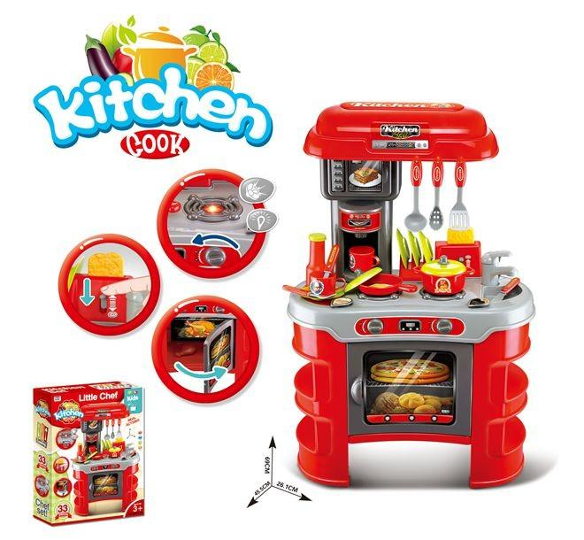 Kitchen Set (XC-008-908A)-Pretend Play-Toycra-Toycra