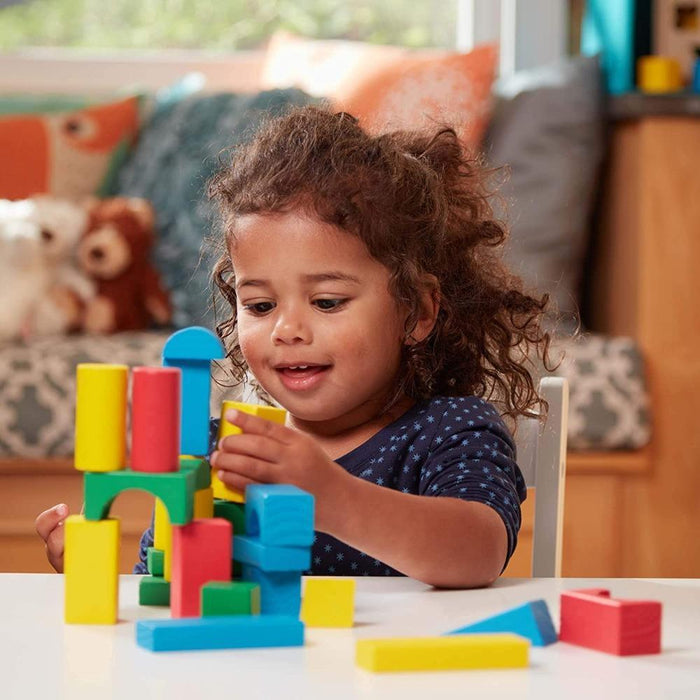 Melissa & Doug 100-Piece Wood Blocks Set-Construction-Melissa & Doug-Toycra