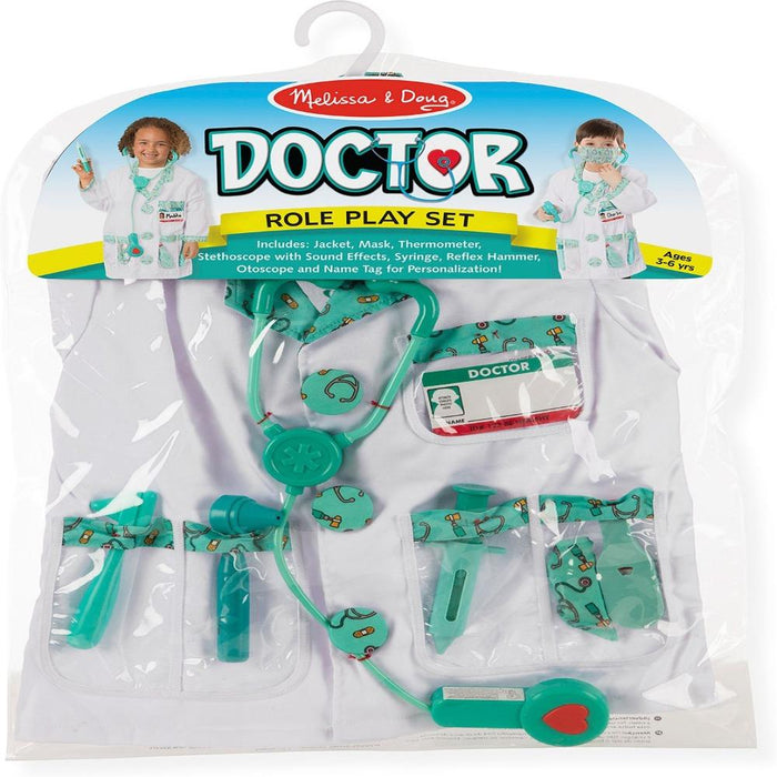 Melissa & Doug Doctor Role Play Costume Set-Pretend Play-Melissa & Doug-Toycra