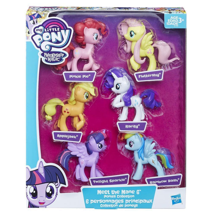 My Little Pony Meet the Mane 6 Ponies Collection-Dolls-My Little Pony-Toycra