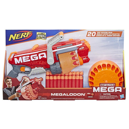 Nerf N-Strike Megalodon-Action & Toy Figures-Nerf-Toycra