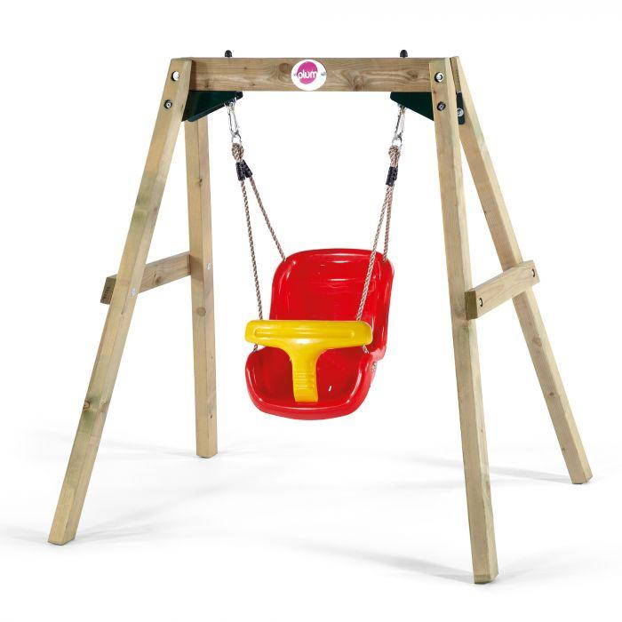 Plum Wooden Baby Swing Set-Outdoor Toys-Plum-Toycra