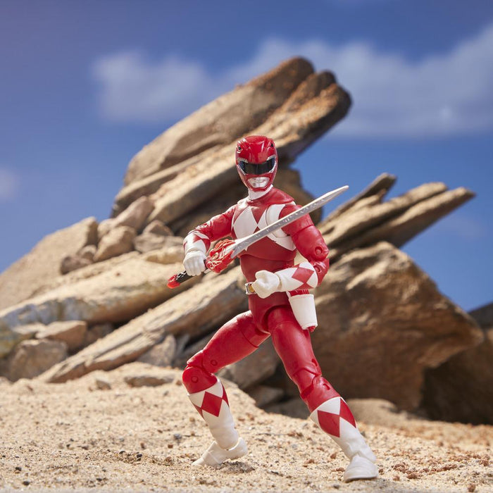 Power Rangers Lightning Collection 6-Inch Mighty Morphin Red Ranger-Action & Toy Figures-Marvel-Toycra
