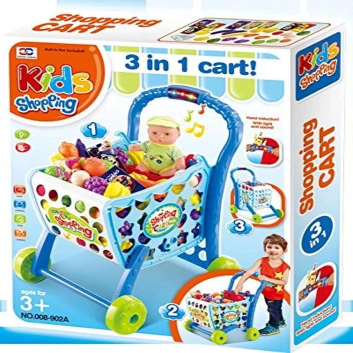Shopping Cart (XC-008-902A)-Pretend Play-Toycra-Toycra