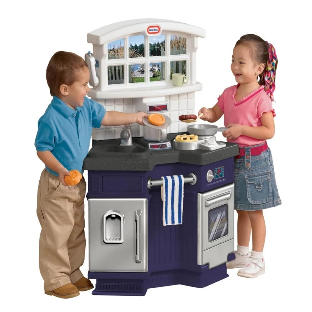 Side by Side Kitchen-Pretend Play-Little Tikes-Toycra
