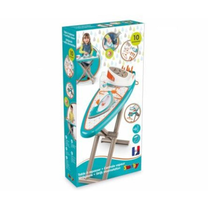Simba Ironing Board + Steam Iron-Pretend Play-Simba-Toycra