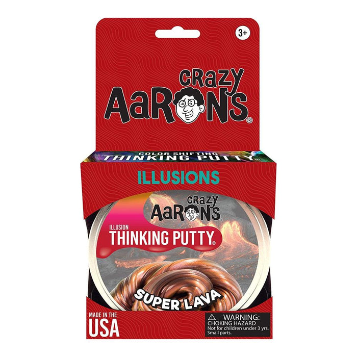 "Super Lava Illusions 4"" Tin-Novelty Toys-Crazy Aaron's Putty-Toycra"