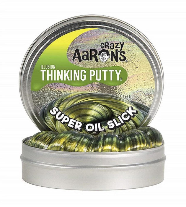 "Super Oil Slick Illusions 4"" Tin-Novelty Toys-Crazy Aaron's Putty-Toycra"