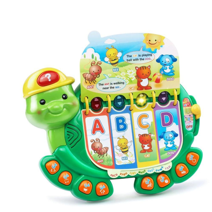 Touch and Teach Turtle-Electronic Toys-Vtech-Toycra