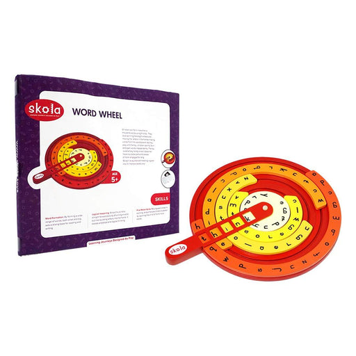 Word Wheel - Reading and Vocabulary Building-Learning & Education-Skola-Toycra