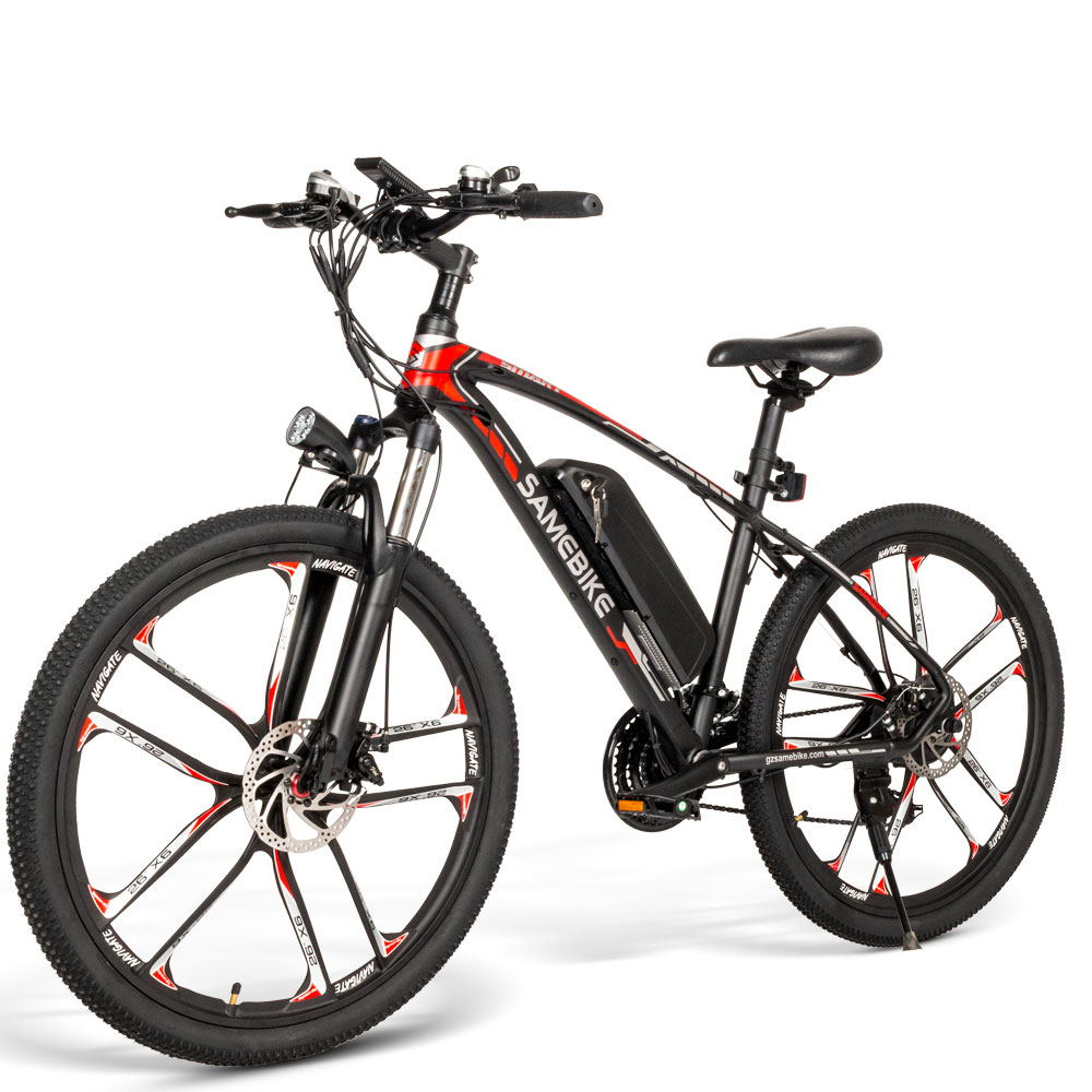 Samebike MY-SM26 350W 26inch MTB Bicycle Electric Mountain Bike for Downhill Canyon - EU Plug - Poland Warehouse