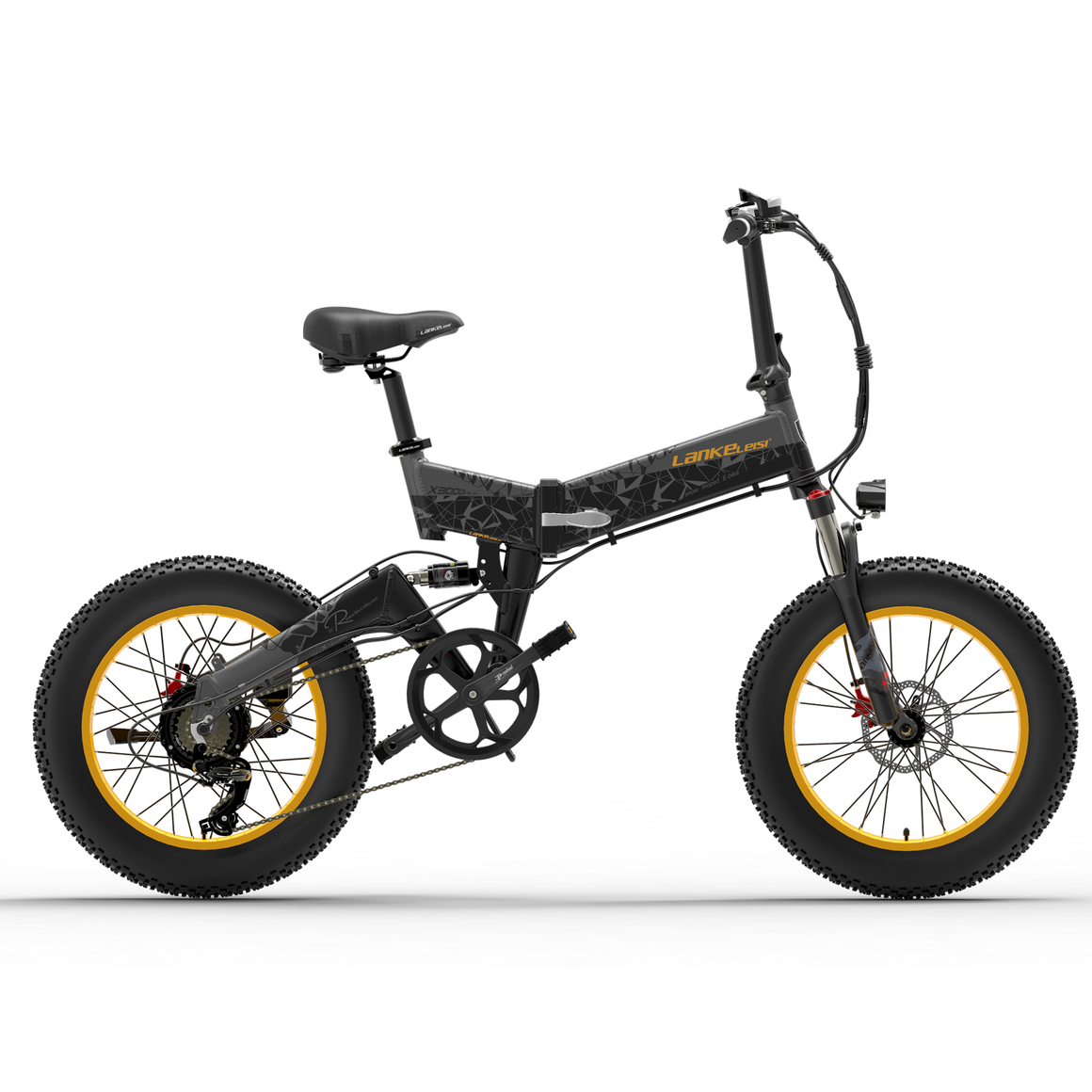 LANKELEISI X3000PLUS SNOW ELECTRIC BIKE 46KM/H 1000W 48V 10.4AH - POLAND