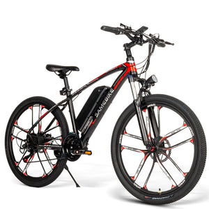 Pre-sale Samebike MY-SM26 26inch MTB Bicycle Electric Mountain Bike for Downhill Canyon - EU Plug - Poland
