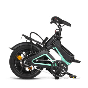 Samebike JG7186 36V/250W 16inch Smart Folding Electric Moped Bike 25km/h E-bike Max load 120kg - EU Plug