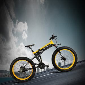 LANKELEISI XT750Plus Electric Bike Bicycle 48V 12.8AH 500W 26in Tire 100KM Mileage Range - Poland