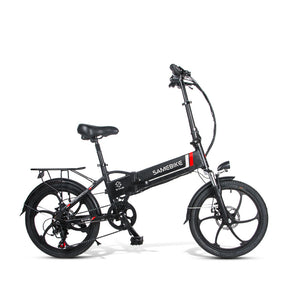 Samebike 20LVXD30 Smart Folding Electric Moped Bike E-bike 10.4Ah / 48V - EU Plug (Poland Warehouse)