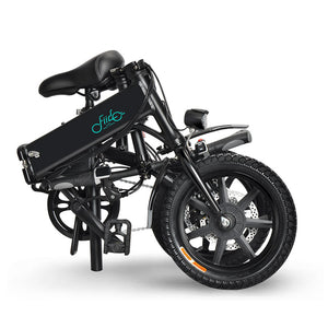 FIIDO D1 Folding Electric Bike Moped Bicycle E-bike - bebiking.com